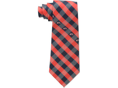 Atlanta Hawks Polyester Checked Tie