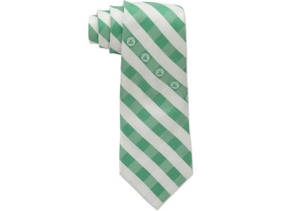 Boston Celtics Polyester Checked Tie