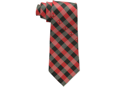 Chicago Bulls Polyester Checked Tie