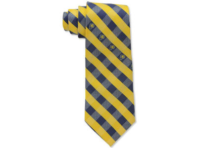 Indiana Pacers Polyester Checked Tie