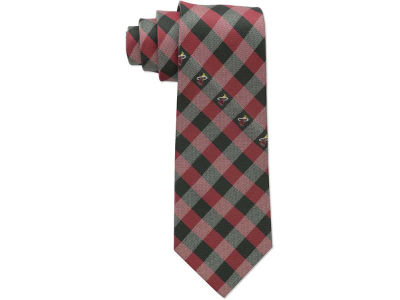 Miami Heat Polyester Checked Tie