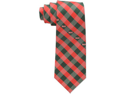 Milwaukee Bucks Polyester Checked Tie