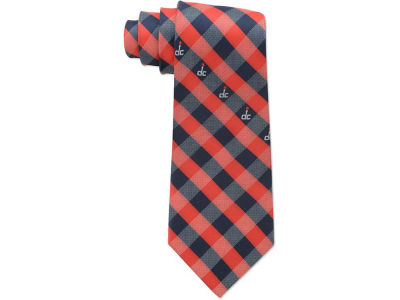 Washington Wizards Polyester Checked Tie