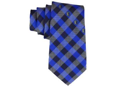 Dallas Mavericks Polyester Checked Tie