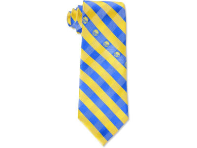 Golden State Warriors Polyester Checked Tie