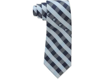 Memphis Grizzlies Polyester Checked Tie