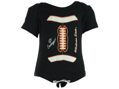 Oklahoma State Cowboys NCAA Infant Diaper Shirt Football Romper