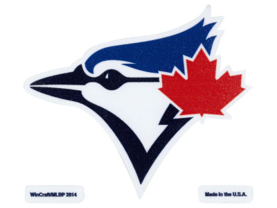 Toronto Blue Jays 4x4 Die Cut Decal Color