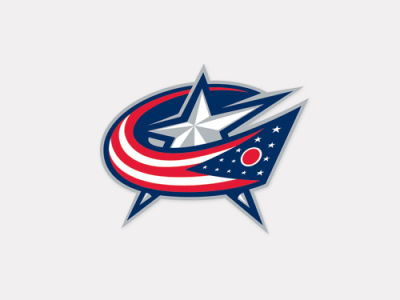 Columbus Blue Jackets 4x4 Die Cut Decal Color