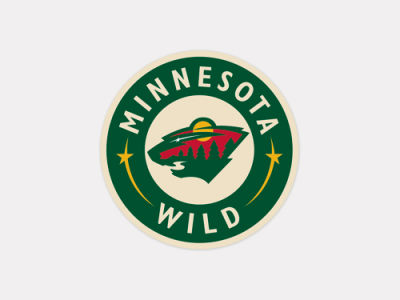 Minnesota Wild 4x4 Die Cut Decal Color
