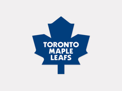Toronto Maple Leafs 4x4 Die Cut Decal Color