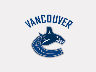 Vancouver Canucks 4x4 Die Cut Decal Color