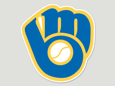 Milwaukee Brewers Die Cut Color Decal 8in X 8in