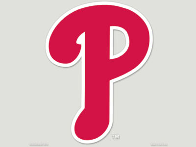 Philadelphia Phillies Die Cut Color Decal 8in X 8in
