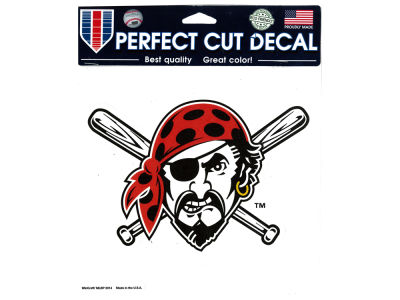 Pittsburgh Pirates Die Cut Color Decal 8in X 8in