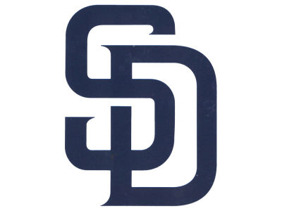 San Diego Padres Die Cut Color Decal 8in X 8in