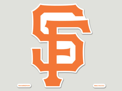 San Francisco Giants Die Cut Color Decal 8in X 8in
