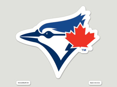 Toronto Blue Jays Die Cut Color Decal 8in X 8in