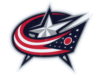 Columbus Blue Jackets Die Cut Color Decal 8in X 8in