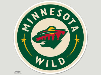 Minnesota Wild Die Cut Color Decal 8in X 8in