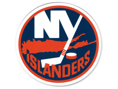 New York Islanders Die Cut Color Decal 8in X 8in