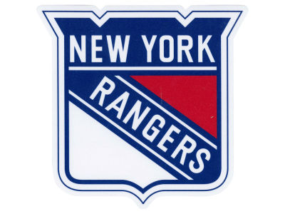 New York Rangers Die Cut Color Decal 8in X 8in