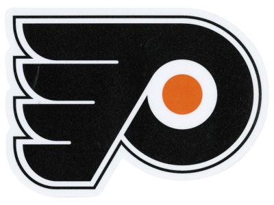Philadelphia Flyers Die Cut Color Decal 8in X 8in