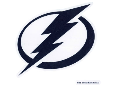 Tampa Bay Lightning Die Cut Color Decal 8in X 8in