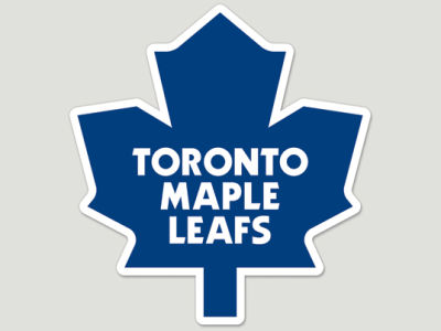 Toronto Maple Leafs Die Cut Color Decal 8in X 8in