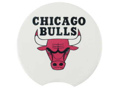 Chicago Bulls 2 Pack Car Coasters