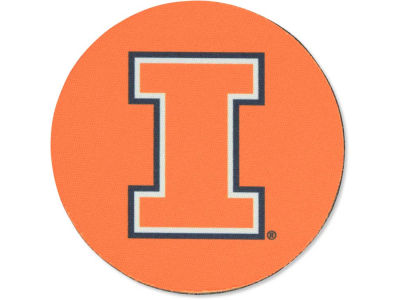 Illinois Fighting Illini 4-pack Neoprene Coaster Set