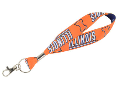 Illinois Fighting Illini Lanyard Key Strap