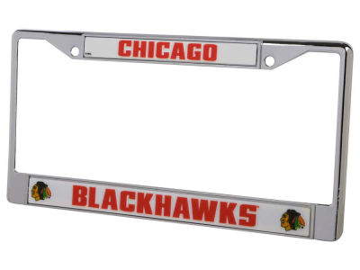 Chicago Blackhawks Chrome Frame