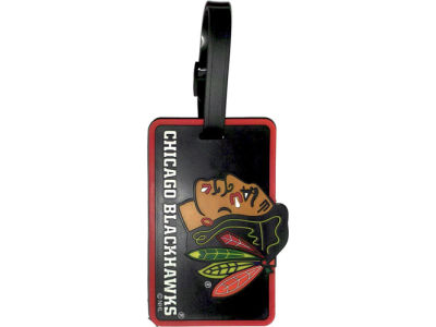 Chicago Blackhawks Soft Bag Tag