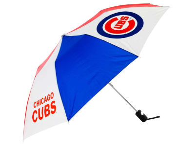 Chicago Cubs Automatic Folding Umbrella
