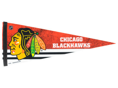 Chicago Blackhawks 12x30in Pennant