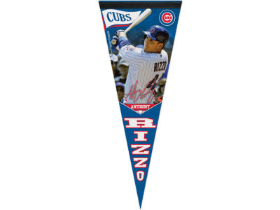 Chicago Cubs Anthony Rizzo 12x30 Premium Player Pennant