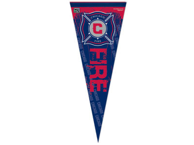 Chicago Fire 12x30in Pennant