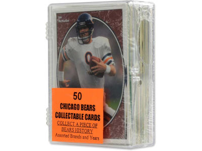 Chicago Bears 50 Card Pack-Assorted