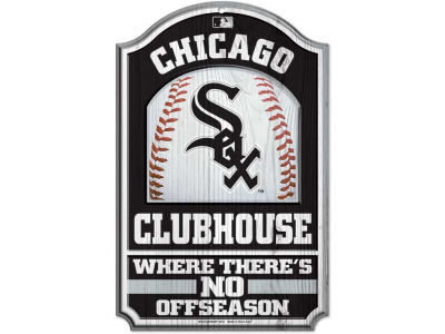 Chicago White Sox 11x17 Wood Sign