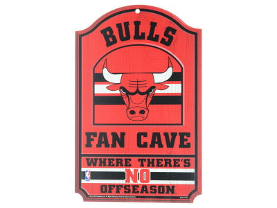 Chicago Bulls 11x17 Wood Sign