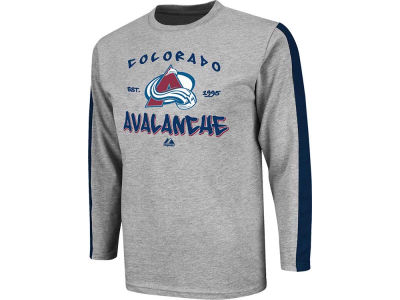 Colorado Avalanche Majestic NHL Youth Long Sleeve T-Shirt