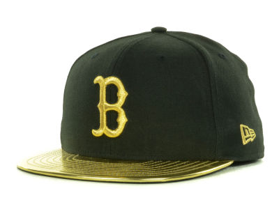 Boston Red Sox New Era MLB 59th Anniversary Gold 59FIFTY Cap