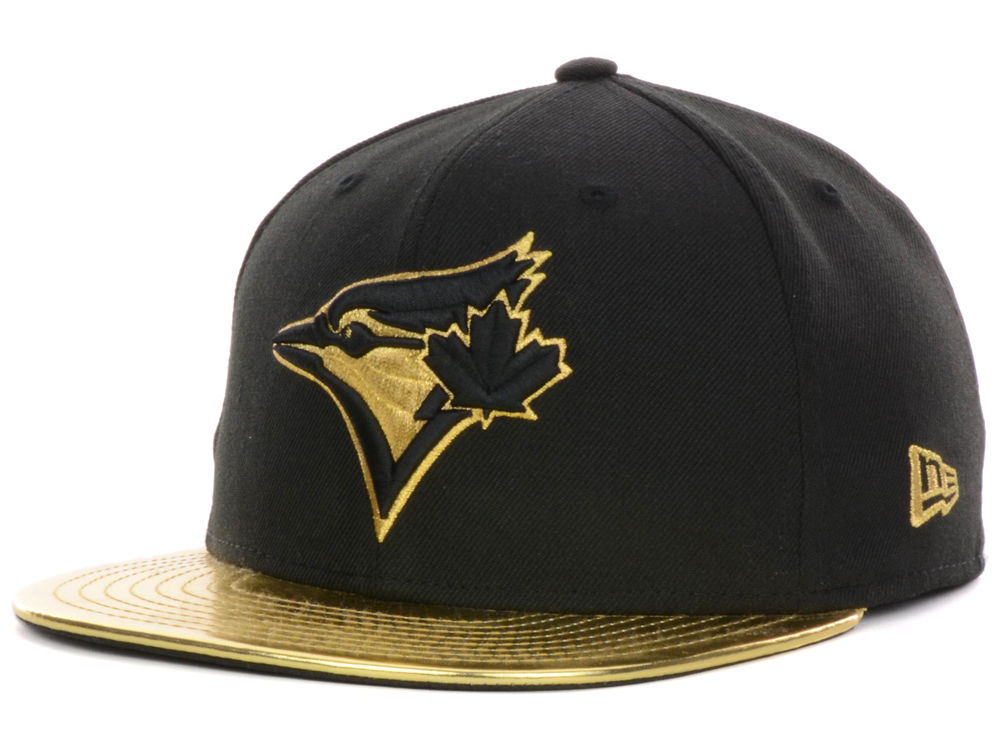 734710b5b14 Toronto Blue Jays New Era MLB 59th Anniversary Gold 59FIFTY Cap ...
