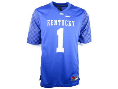 Kentucky Wildcats #1 Nike NCAA Replica Football Game Jersey