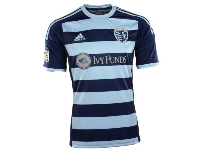 Sporting Kansas City adidas MLS Men's Secondary Replica Jersey