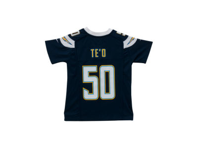 Los Angeles Chargers Manti Te'o NFL Youth Game Jersey