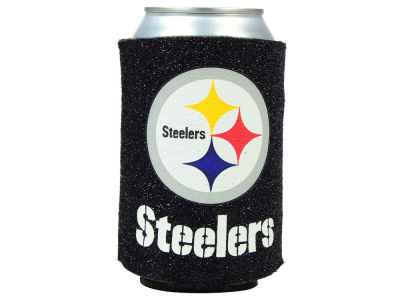 Pittsburgh Steelers Glitter Can Coozie