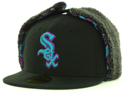Chicago White Sox New Era MLB Pattern'd Up Dog Ear 59FIFTY Cap
