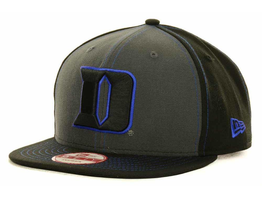 a6edabb06ccd9 ... reduced duke blue devils new era ncaa gray black pop 9fifty snapback  cap 1bc4b 4869f